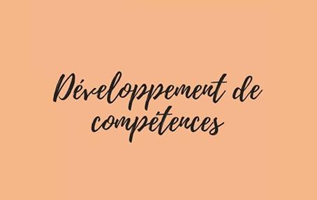 Développement de compétences