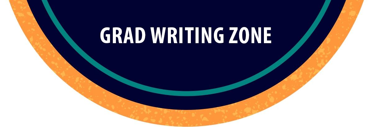 bubble for grad writing zone
