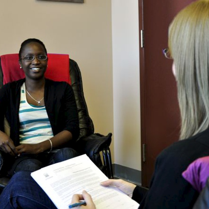 PHOTO: Counselling consultation