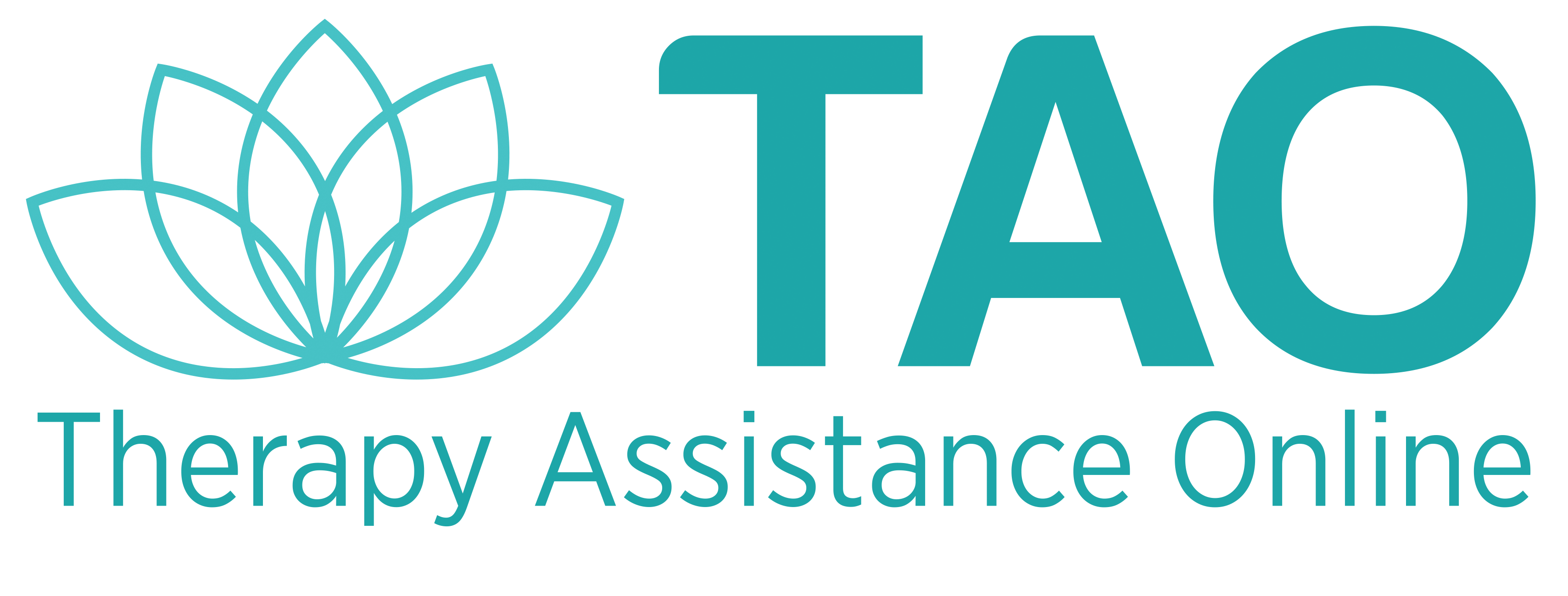 TAO Therapy Assistance Online Logo.